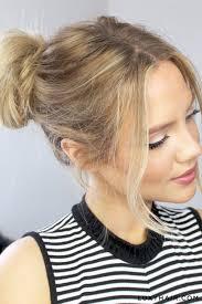 hair bun bun how to do a bun 3 easy steps luxy hair