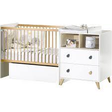 chambre bébé moins cher lit bébé évolutif pas cher bebe barreaux evolutif et combine moins
