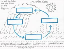 the water cycle lesson plan with hand drawn printables water