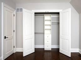 Bedroom Closet Sliding Doors Home Bedroom Closet Using Sliding Door White Scheme Make Yor Room