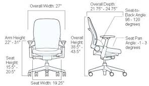 desk height for 6 2 office chair measurements amazing chairs standard desk height cm for