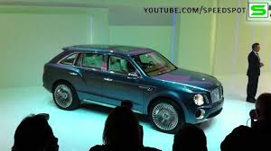 suv bentley white bentley suv the exp 9 f concept 2012 youtube