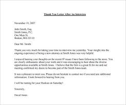 brilliant ideas of thank you letter internal interview sample also