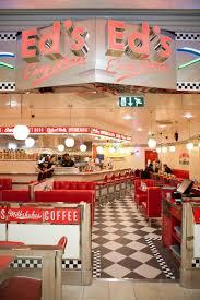 mobilier diner americain 1950 u0027s burger diners all american menu at ed u0027s diner in