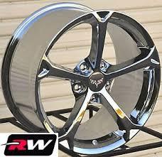 chrome corvette wheels 18 19 inch chevy corvette wheels c6 grand sport oe replica