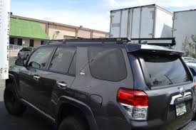 toyota 4wd toyota 4runner 2010 up roof racks proline 4wd equipment miami