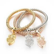 fashion jewelry gold bracelet images Longway 2017 new fashion bracelets bangles jewelry gold color jpg