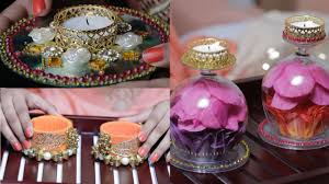Home Decoration Ideas For Diwali 3 Diy Diyas To Light Up Your House Youtube
