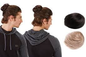 clip on man buns are now a thing new york post