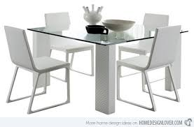 square glass table dining square glass dining table new 15 shimmering room tables home design