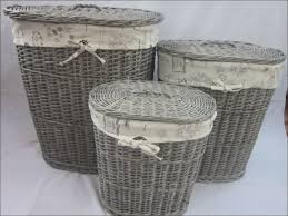 decorative laundry hampers furniture white wicker clothes hamper laundry basket bag laundry