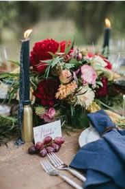 Burgundy Wedding Centerpieces by Urban Chic Seattle Wedding Wedding Centerpieces Seattle Wedding