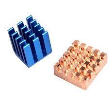 raspberry pi heat sinks heatsink for raspberry pi 3 aluminum and copper makerlab philippines