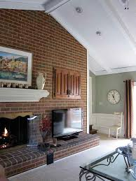 how would you decorate this huge fireplace fireplace mantle