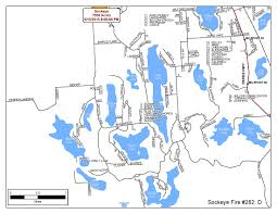 Card Wildfire Alaska by Sockeye Fire Detailed Maps Of The Fire Area Ak Fire Info
