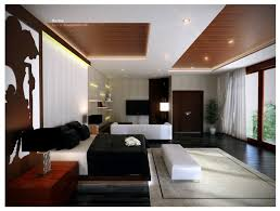 Modern Bedroom Ceiling Design Modern Master Bedroom With Wooden Ceiling Lighting Ideas And