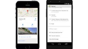 Google Maps Offline Iphone Google Maps For Ios And Android Add Offline Support Lane Guidance