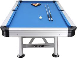 Bumper Pool Tables For Sale Amazon Com Playcraft Extera Outdoor Pool Table With Playing