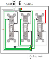electrical de coupling fan and lighting switches home