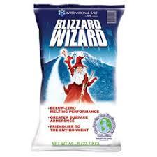 blizzard wizard ice melt 50 lb