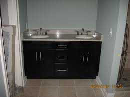 Shaker Style Bathroom Vanity by Black Shaker Style Bathroom Vanity Double Under Counter Sink With