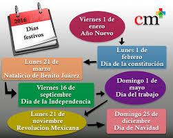 calendario imss 2016 das festivos el despacho cm despacho auditoría contable y fiscal s c
