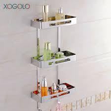 Corner Bathroom Shelving Aliexpress Buy Xogolo Tier Stainless Steel 304 Modern
