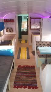 dad and son convert old 90 u0027s bus into a tiny dream home