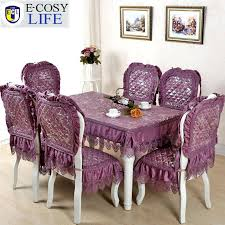 table chair covers dining table and chair covers 6 dinner hat home decorations design