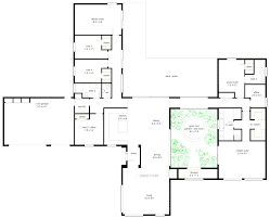 Cottage Floor Plans One Story One Story 5 Bedroom House Floor Plans Pinterest Cool Corglife
