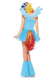 Pony Halloween Costume Girls Rainbow Dash Picmia