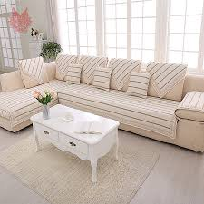 Modern Sofa Covers by White Linen Sofa Slipcover Best Home Furniture Decoration