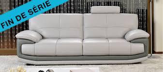 canap cuir gris un canapé en cuir gris à prix directs importateur négociés