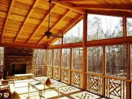 cabin porch the amazing screened porch ideas
