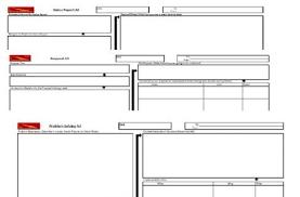 Problem Solving Template Excel A3 Template Set Else Inc