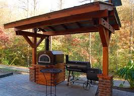 outdoor kitchen roof ideas outdoor living devol millwork