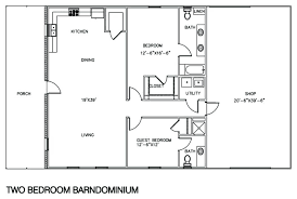 plan floor simple two bedroom house plan floor plans with shop 2 bedroom