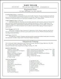Nurses Resume Templates Sample Er Nurse Resume Best Images On Resume Ideas Resume Tips And