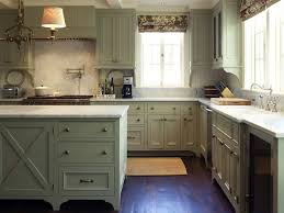stylish kitchen with distressed kitchen cabinets home design