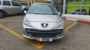 peugeot sa used cars 2007 peugeot 207 r 59 900 for sale renault retail group the
