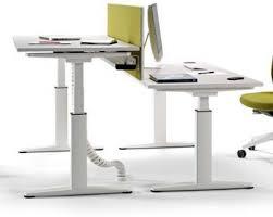 double height adjustable office desk ergo x range office reality