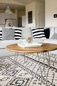 my diy wood slab coffee table salones u003c3 pinterest wood