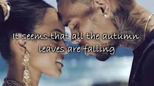 chris brown feat kendrick lamar autumn leaves lyrics