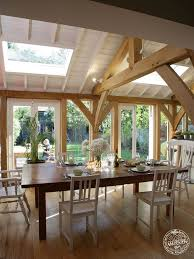 Kitchen Diner Extension Ideas Extension Arch Brace Truss Timber Frame Oak Frame Green Oak