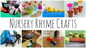 nursery rhyme crafts u0026 activities youtube