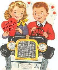 retro valentines happy s day from the tiki