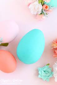 foam easter eggs decorative floral easter eggs