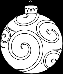 ornament coloring page free printable pages and