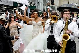 second line wedding wedding second line on wall st the lowdown stompersthe lowdown
