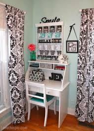 Small Desk Area Small Corner Desk Area Home Blackandwhite Desk Style Decorate